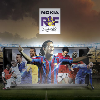 Ronaldinho & Friends Display Campaign Nokia